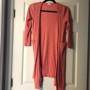 LulaRoe Size 12 Sariah pink sweater